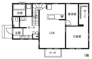 【間取り有】【40坪台/3000万円台】【地下室付二世帯住宅】家族みんなが楽しむ住まい画像5
