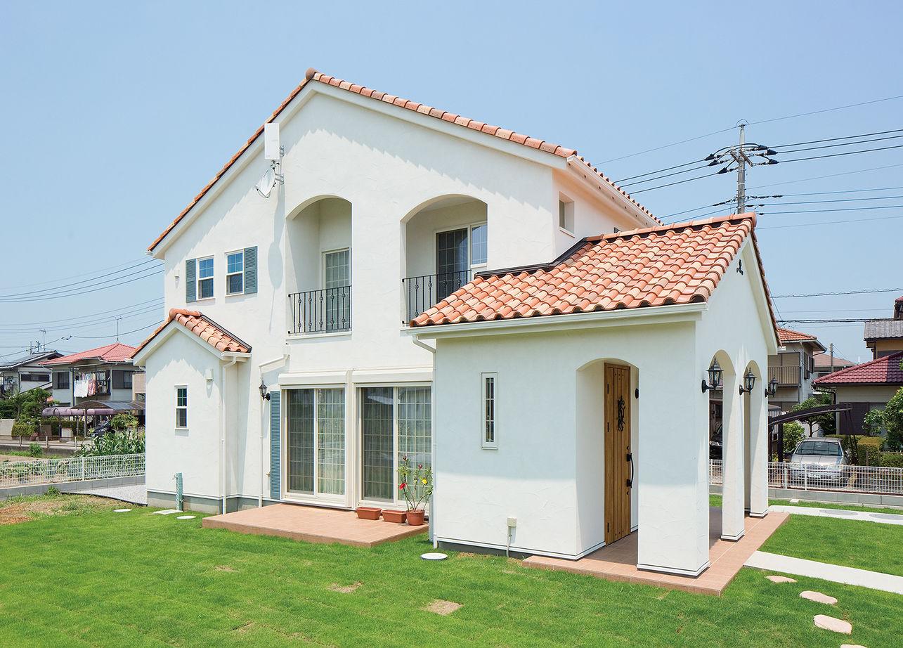 【1500万円台】本格派の南欧風の家を建てたい!こだわりを詰め込んで「かわいい」を叶えた輸入住宅画像1