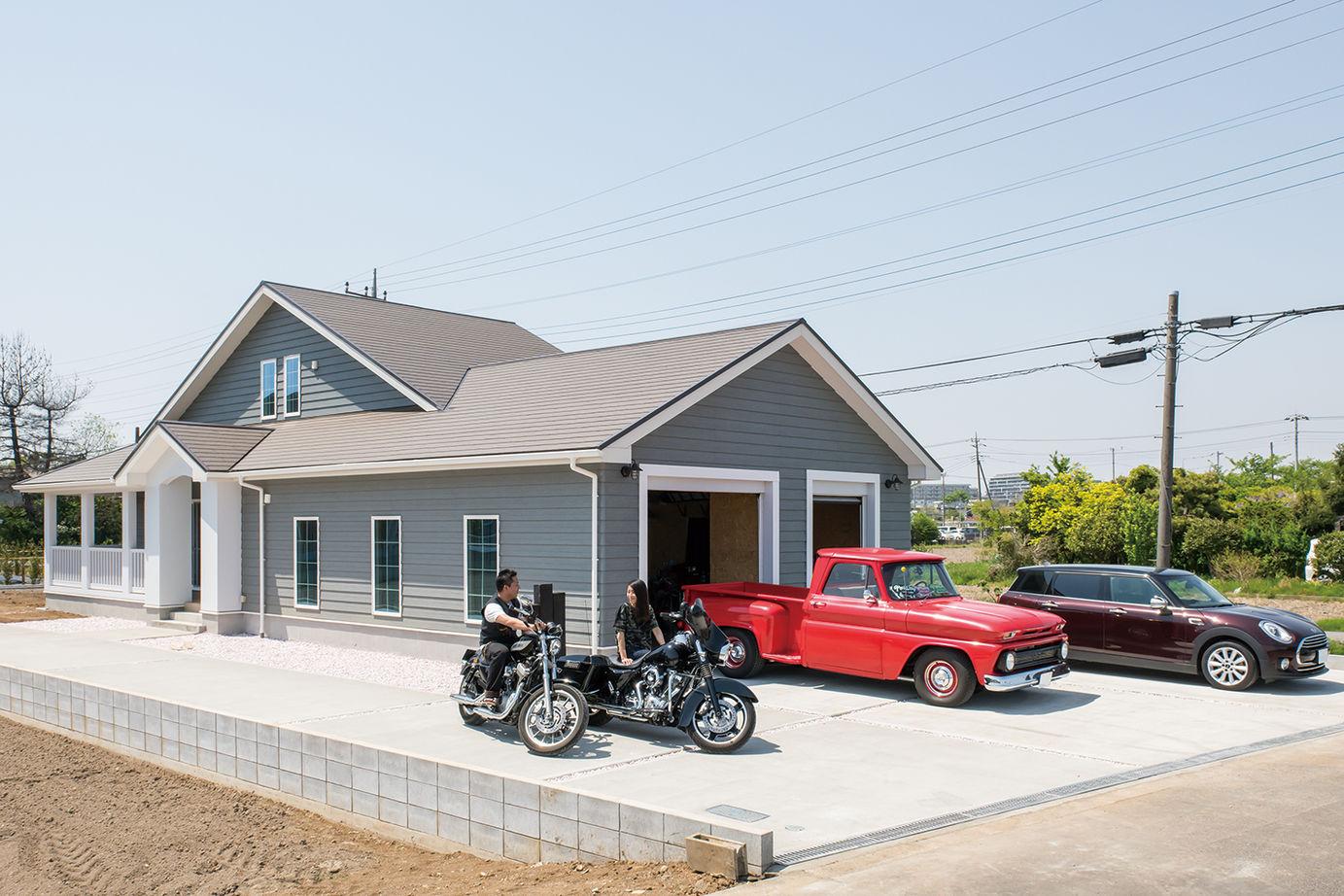 【2613万円】夢とこだわりがたっぷり!ビルトインガレージを楽しむ、ロフト付き平屋アメリカンハウス画像1