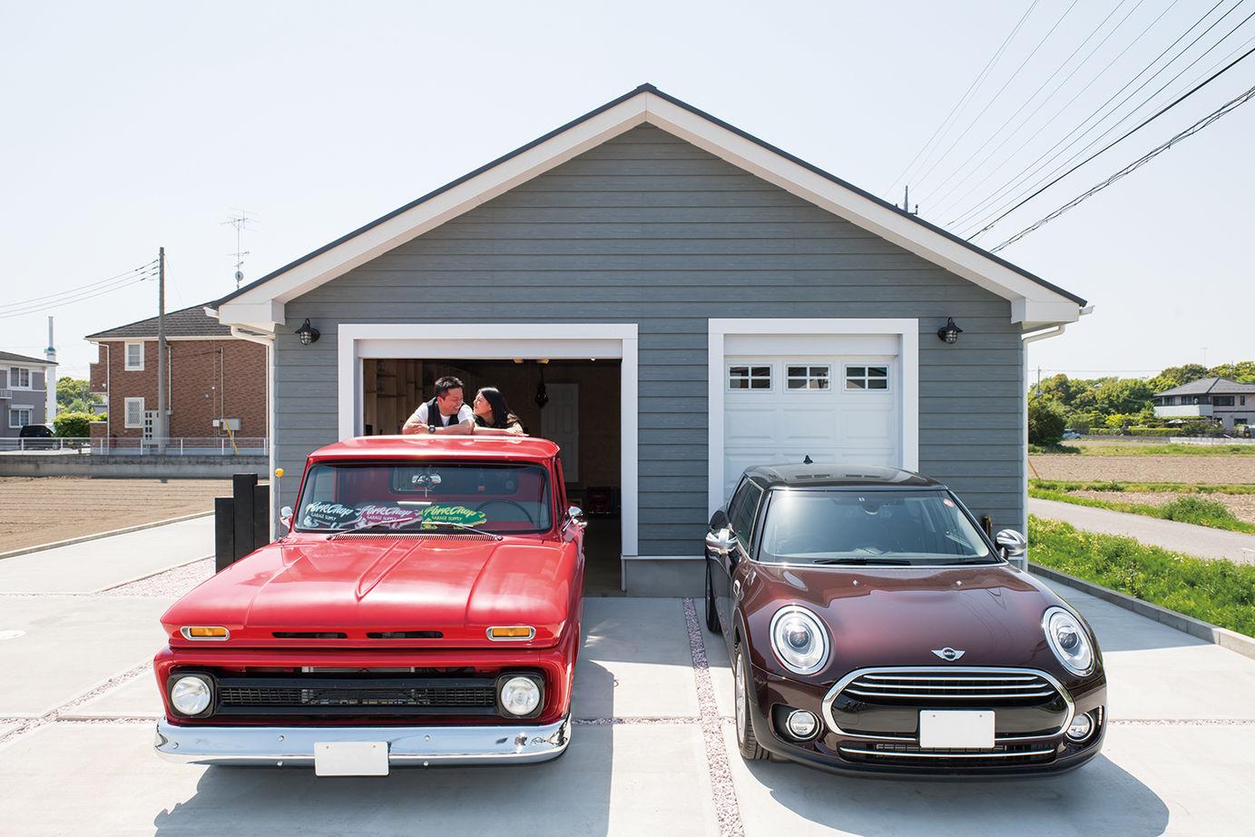 【2613万円】夢とこだわりがたっぷり!ビルトインガレージを楽しむ、ロフト付き平屋アメリカンハウス画像2