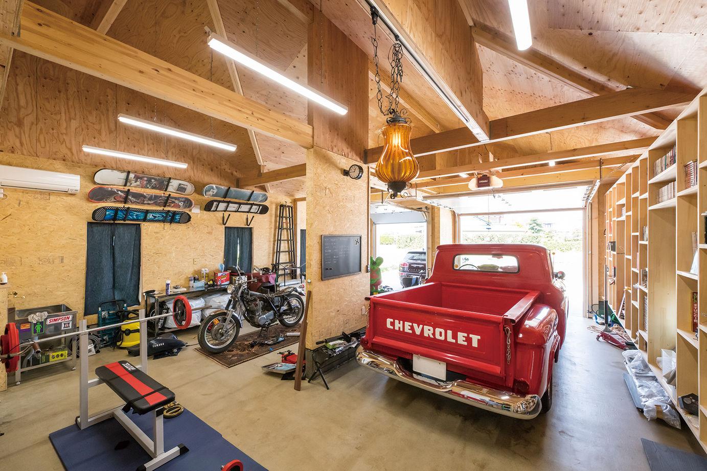 【2613万円】夢とこだわりがたっぷり!ビルトインガレージを楽しむ、ロフト付き平屋アメリカンハウス画像3
