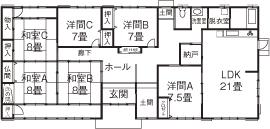 日本建築の文化と伝統を継承し、末永く住むほど味わいが出る、頑丈な無垢木材で建てた平屋の家画像4