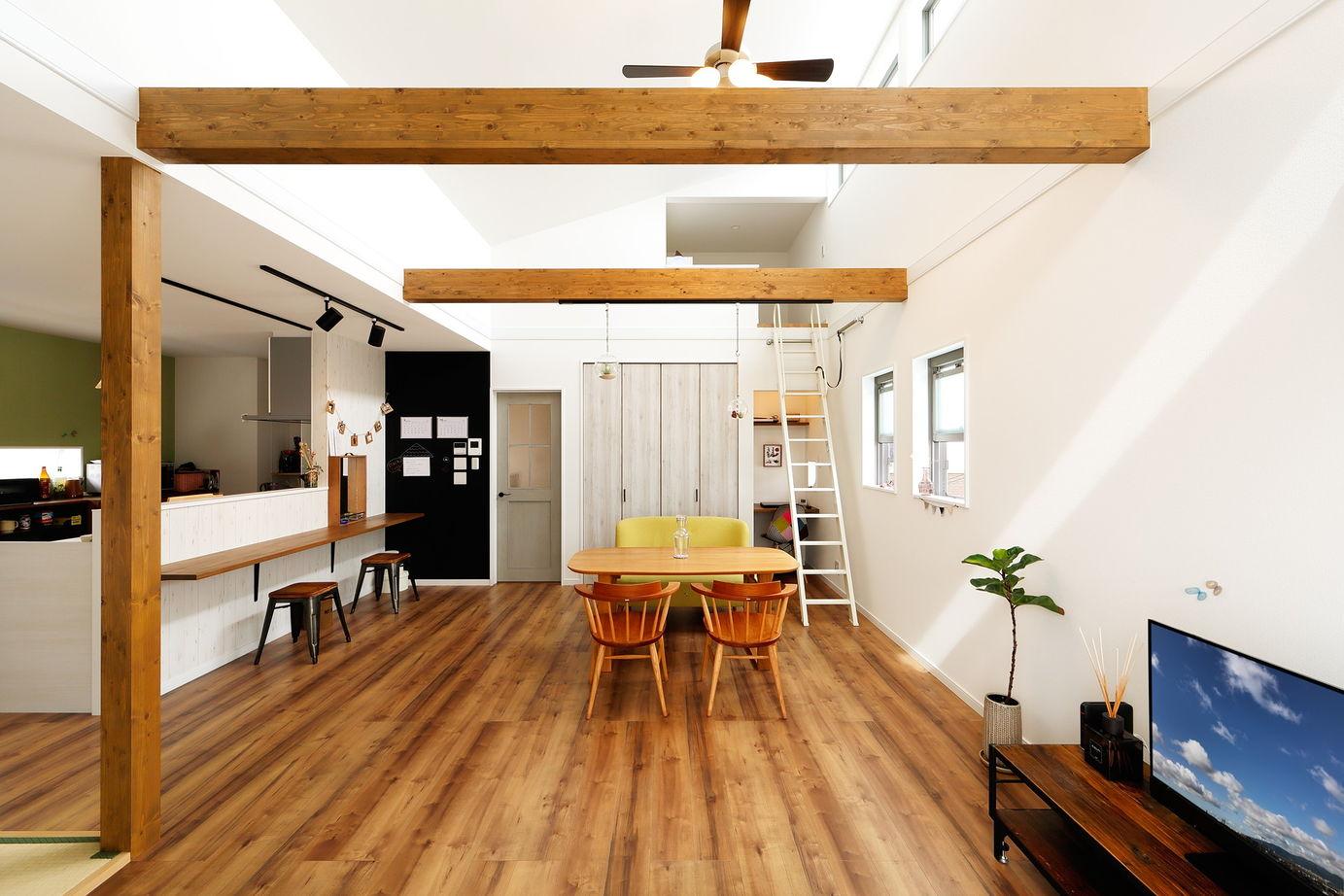 マンションもかなりの価格。それなら一戸建ては?から始まった、土地とセットで叶えた北欧カフェテイスト画像2