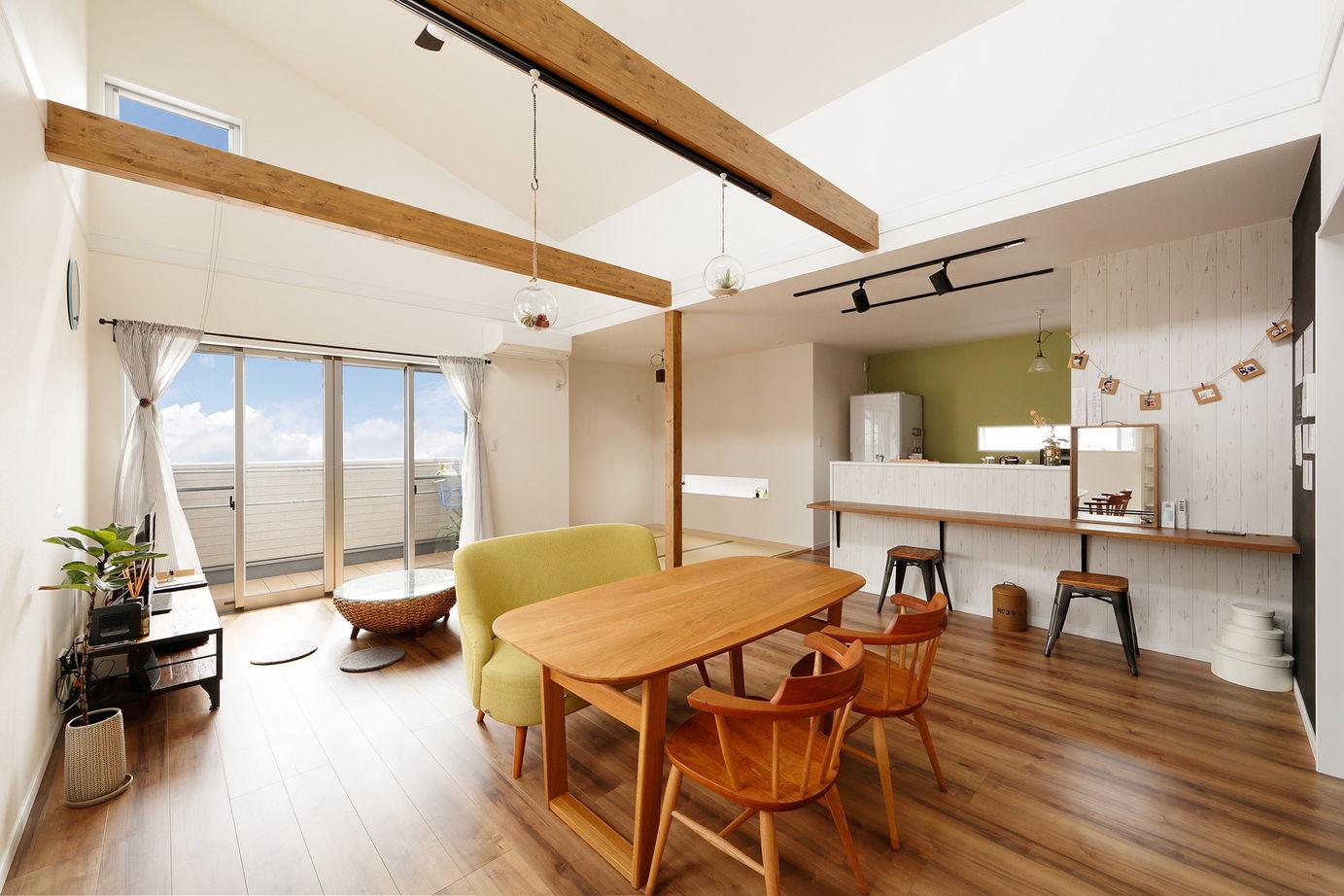 マンションもかなりの価格。それなら一戸建ては?から始まった、土地とセットで叶えた北欧カフェテイスト画像3