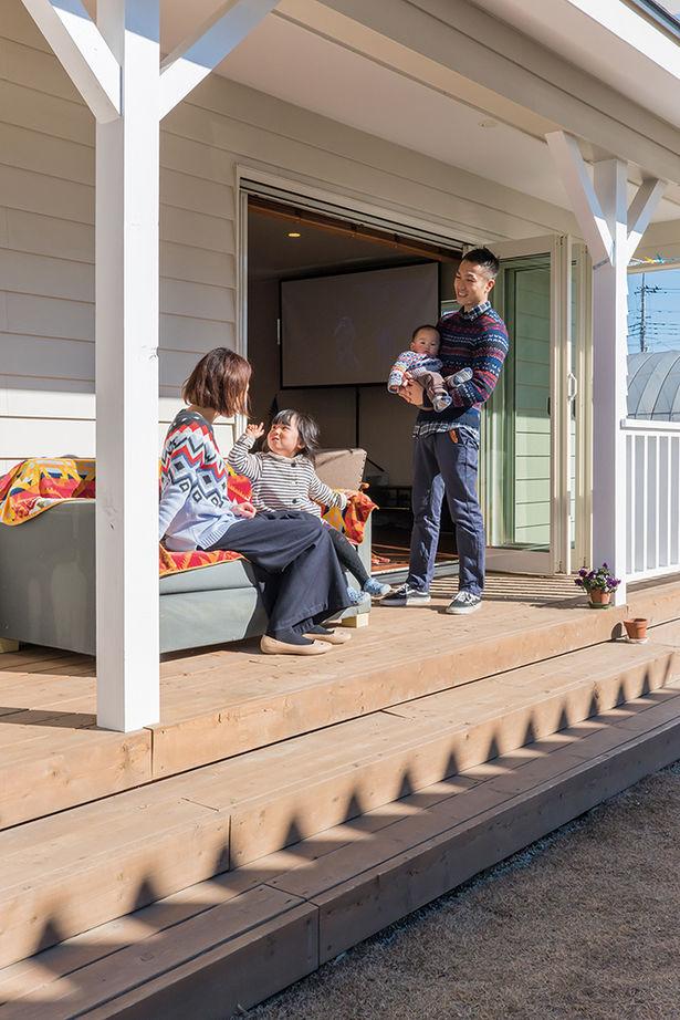 【2000~2500万円/埼玉県】《カリフォルニアスタイル》 お庭とつながるデッキポーチでBBQが楽しめる家画像2