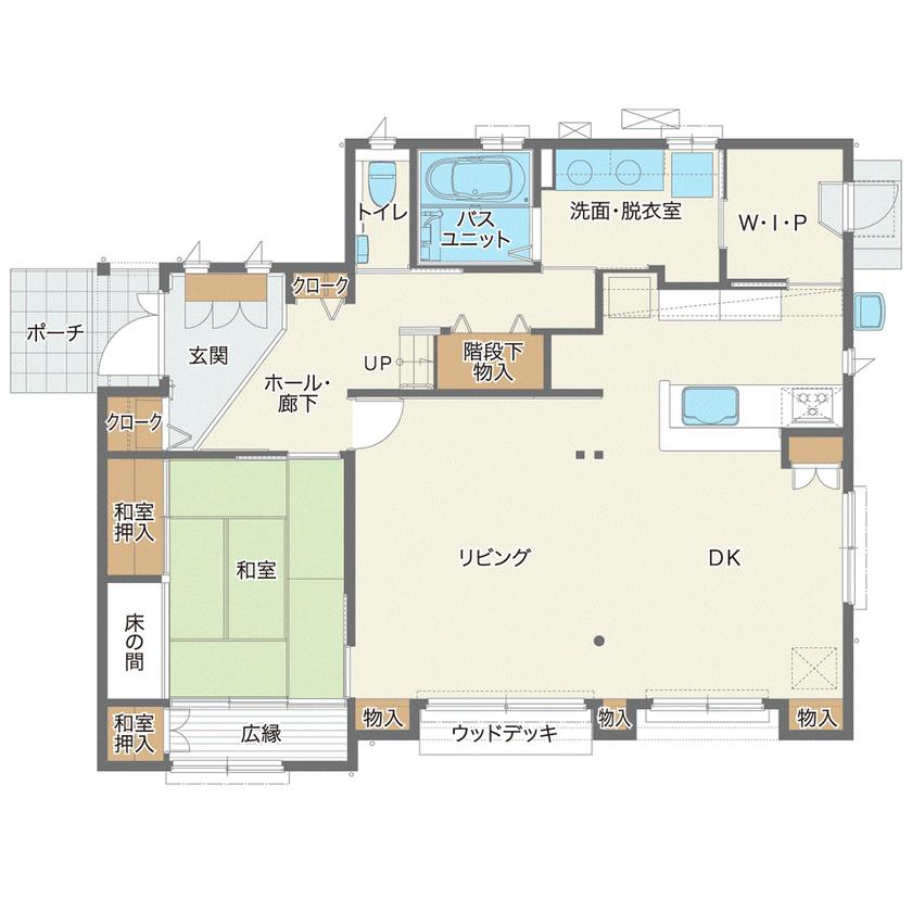 築40年の木造住宅を建て替えて快適に暮らす。美しい庭を眺めながら親族友人がゆったり集える大空間の家画像4