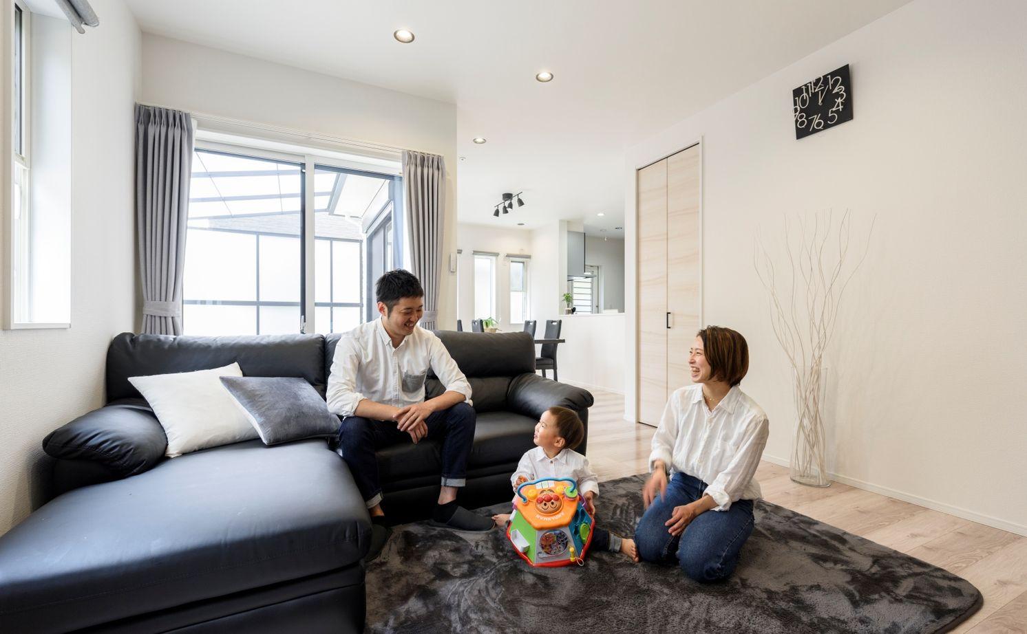 【1700万円台/110.95平米/間取り図あり】暮らし易くシンプルな家を希望  豊富な収納と家事動線に配慮した家画像1