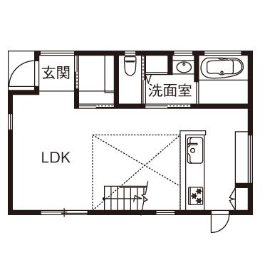 【1700万円】夫婦2人と愛猫1匹。1LDKの効率的な間取りで、好きなデザインに囲まれて暮らす画像4