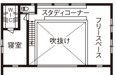 【2280万円】玄関土間から間仕切りなしで広がる吹き抜けのLDK。倉庫風の外観デザインが印象的画像5