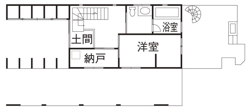 「ガレージハウス」「屋上庭園」と趣味にこだわったビルトインガレージの家【間取り有】画像4