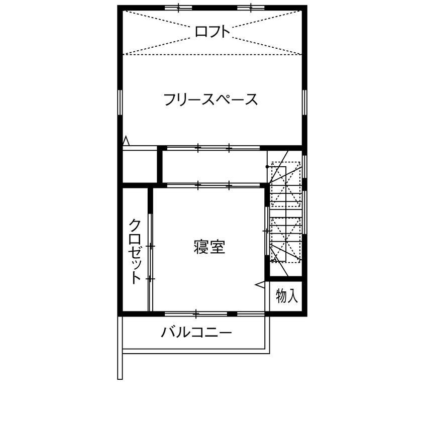 【1500~2000万円】わずか17.8坪に建てた2世帯住宅。タテヨコに広がる設計で開放感あり画像6