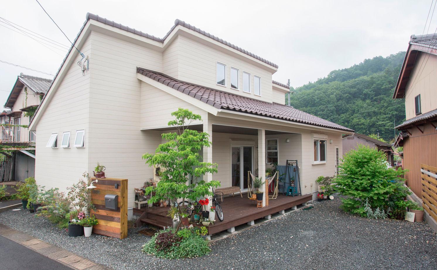 [京都・~1500万円・30坪以下・駐車場有]無垢材、漆喰などをふんだんに使った平屋の実例(間取り有)画像2