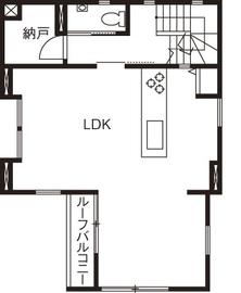 20坪の敷地で広く暮らす工夫が満載。ビルトインガレージや大収納空間「蔵」画像5