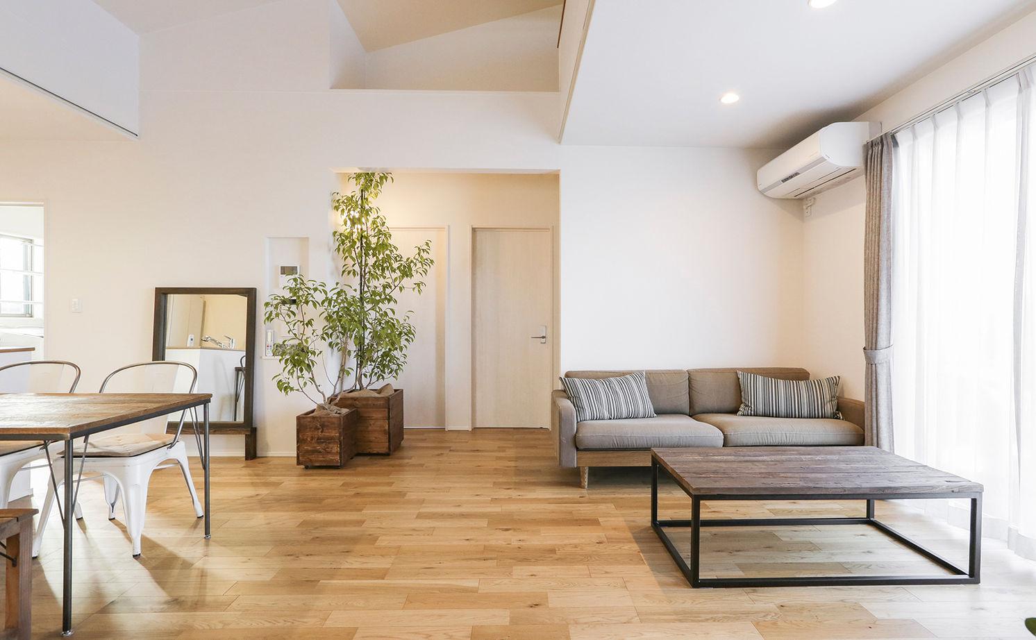 【平屋住宅×おしゃれ×1000万円台】空間を活かしたコンパクト設計のデザイナーズ住宅  間取り図画像2