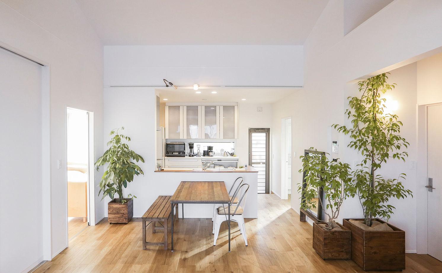 【平屋住宅×おしゃれ×1000万円台】空間を活かしたコンパクト設計のデザイナーズ住宅  間取り図画像3