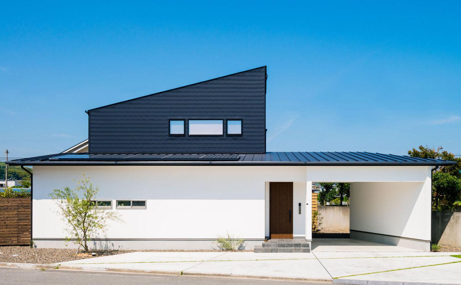 【2000~2500万円】「平屋」風スキップフロアの「ガレージハウス」。空間をタテに広げ、面積以上の開放感!画像1