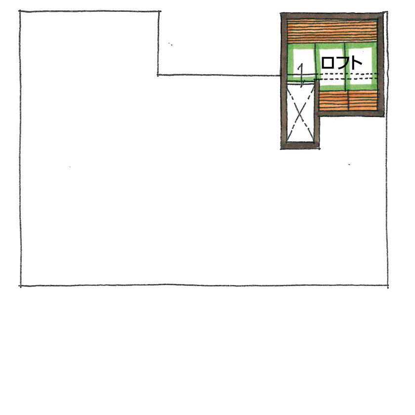 【2000~2500万円/間取り図有】インダストリアル×鉄骨階段のアートな棚。常識を覆す仕掛けがカッコいい!画像6