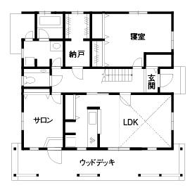 【滋賀県 東近江市×2000~2500万円】「カバードポーチのある家」カルフォルニアスタイルの平屋風画像4