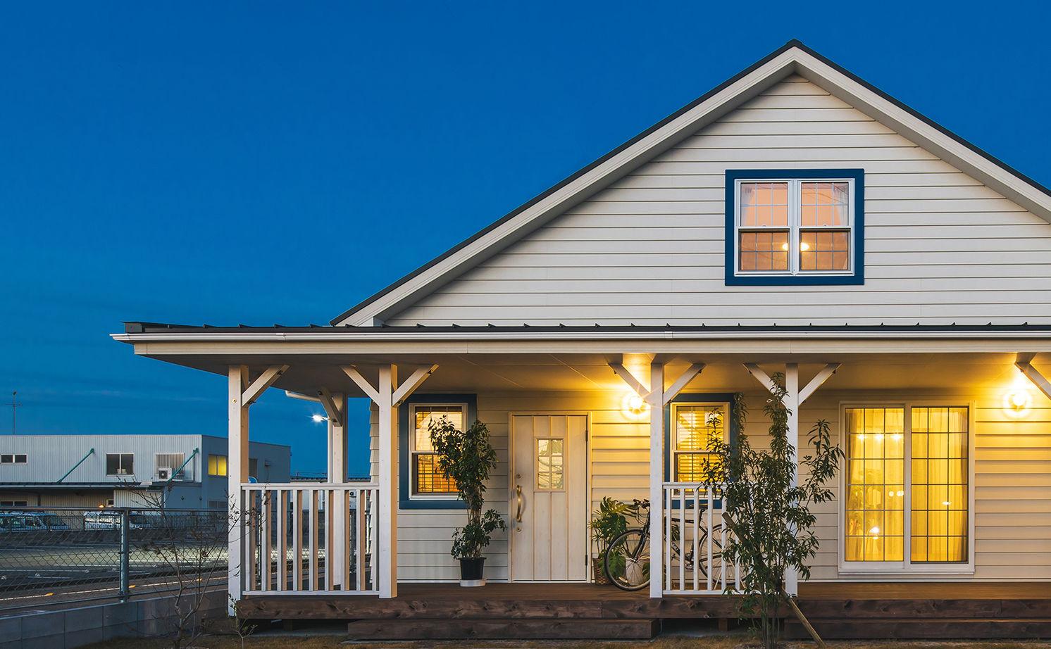 【滋賀県 東近江市×2000~2500万円】「カバードポーチのある家」カルフォルニアスタイルの平屋風画像1