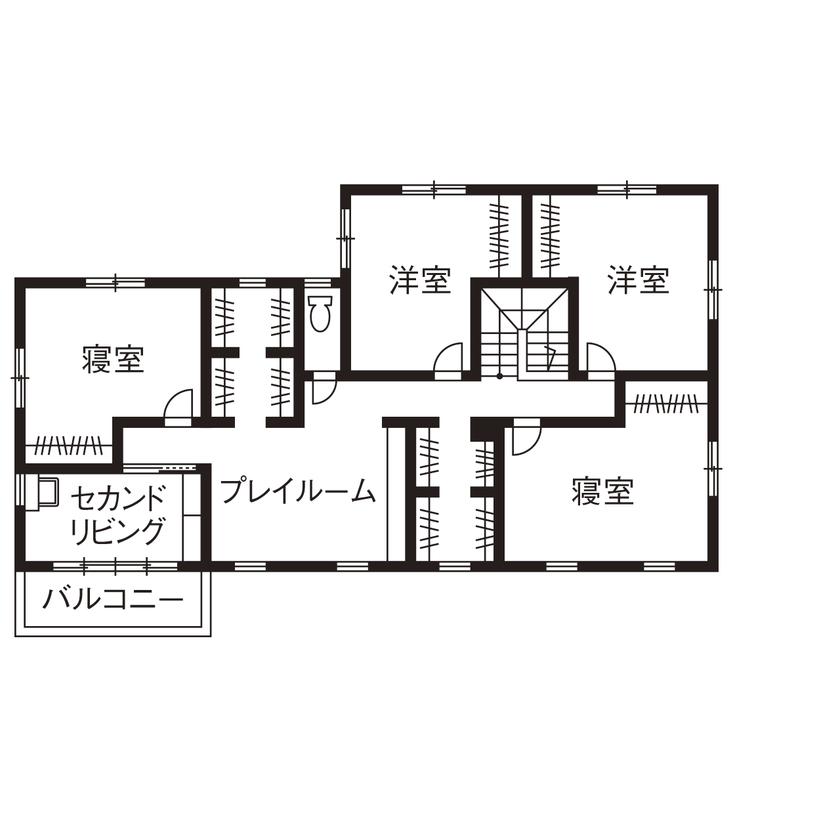 【滋賀県東近江市×2000万円台】ビルトインガレージのあるカリフォルニアスタイルの家画像5