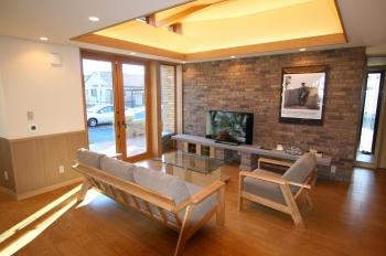 モダンで優雅かつ上品なデザインの美しい平屋住宅画像3