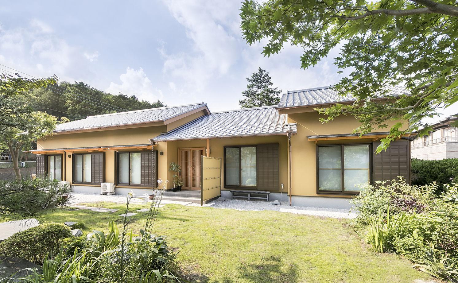 【純和風】【平屋】【二世帯住宅】檜が香る美しい純和風建築のフル装備住宅画像1