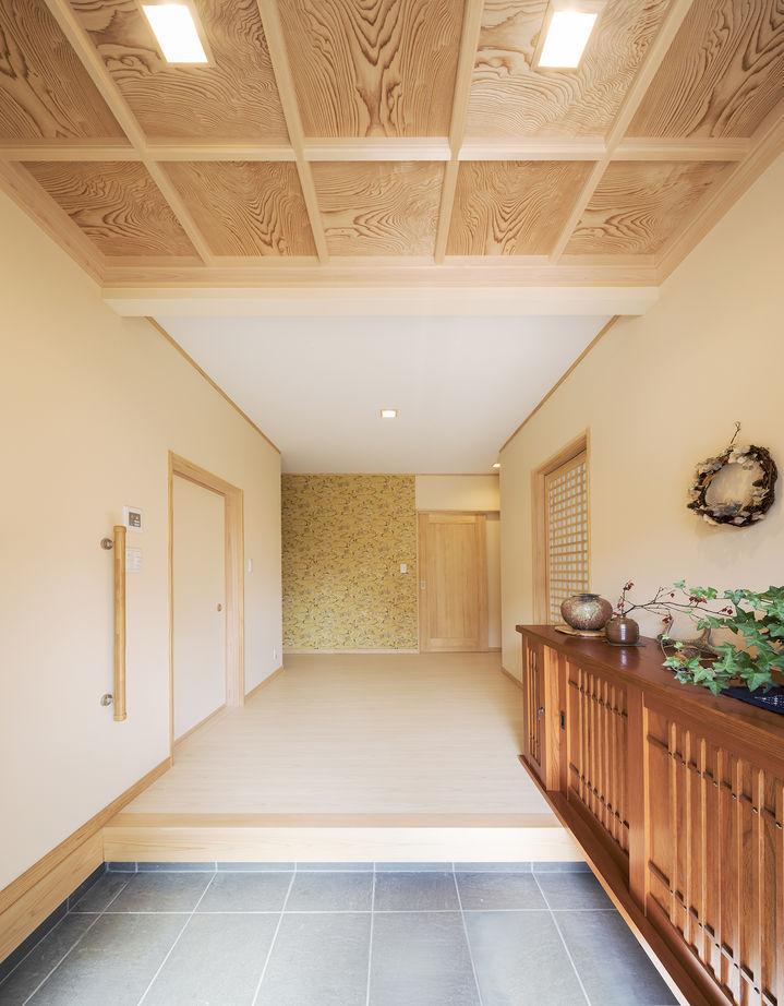 【純和風】【平屋】【二世帯住宅】檜が香る美しい純和風建築のフル装備住宅画像3