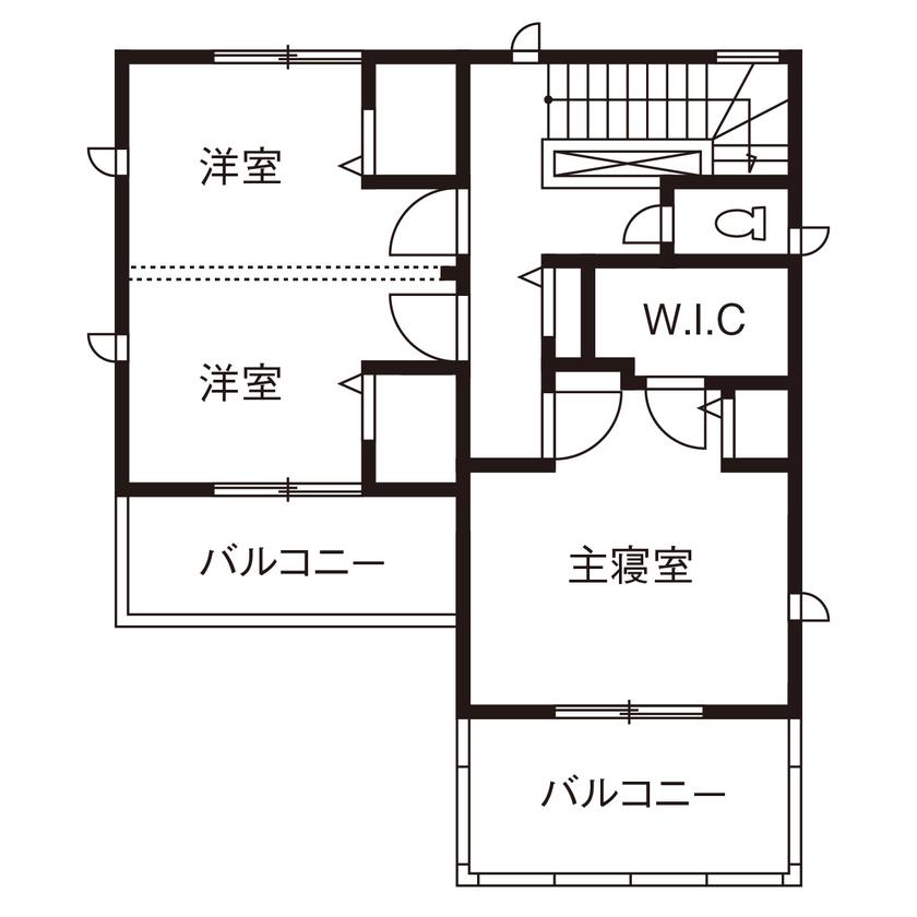 共働き夫婦のこだわりは動線と収納 30坪の敷地を最大限に活かした家画像5
