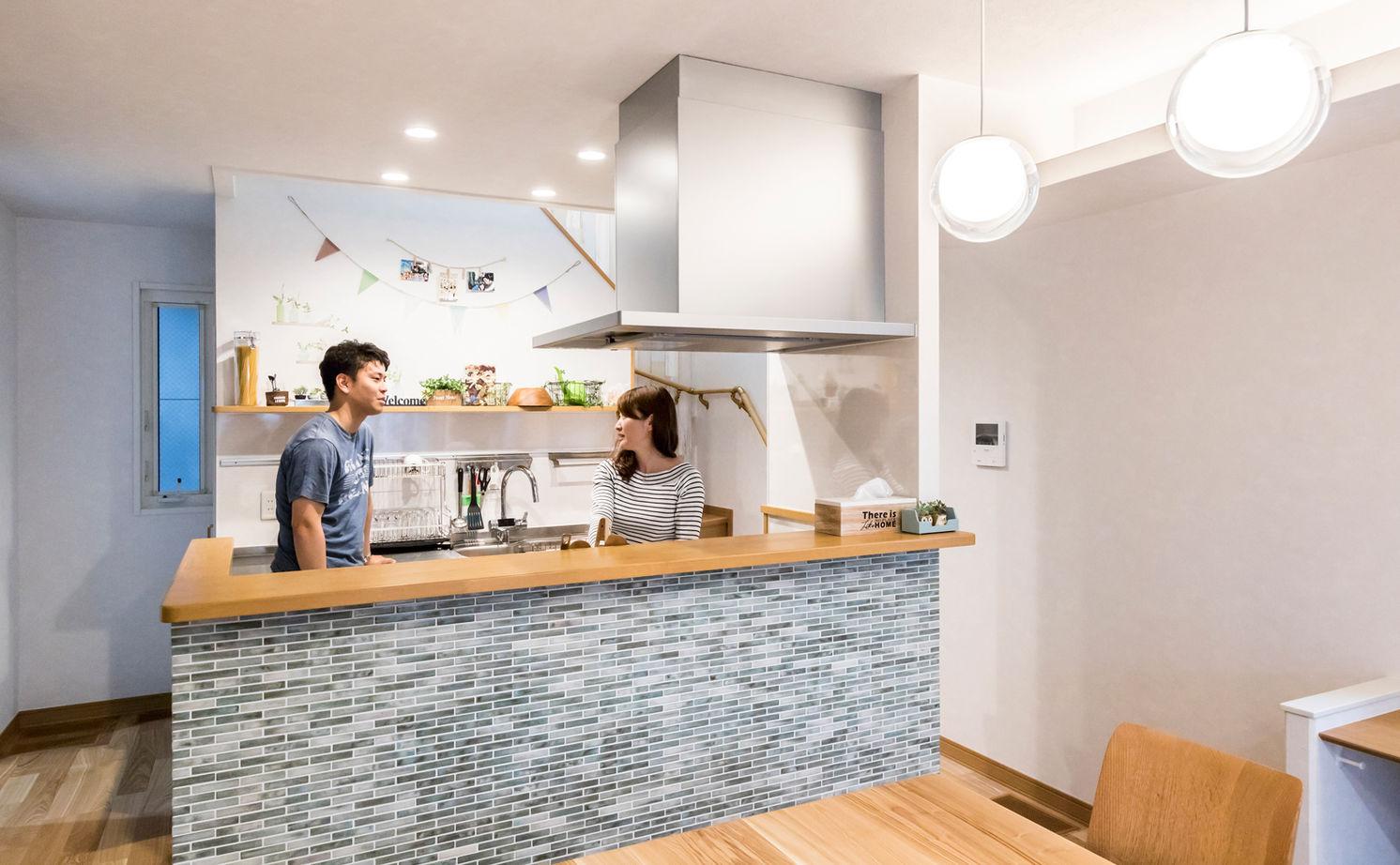 共働き夫婦のこだわりは動線と収納 30坪の敷地を最大限に活かした家画像1