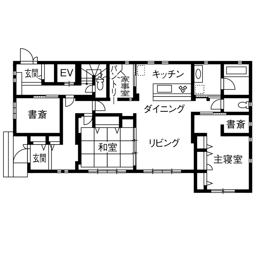 理想の子育て環境と、ワンフロアで生活できる便利さをかなえた完全分離型二世帯住宅画像4