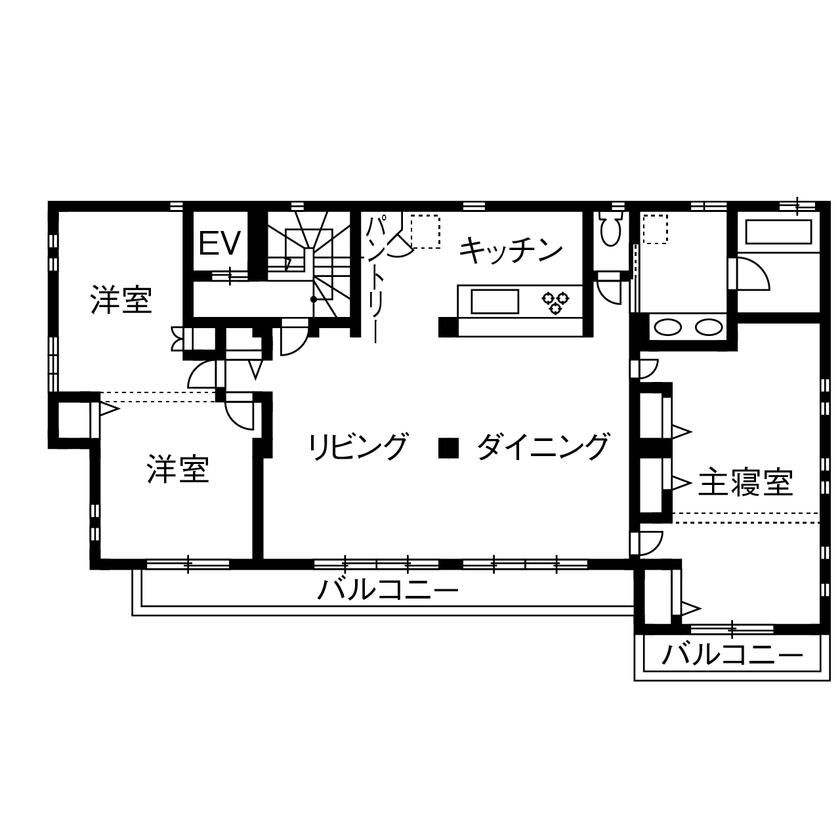 理想の子育て環境と、ワンフロアで生活できる便利さをかなえた完全分離型二世帯住宅画像5