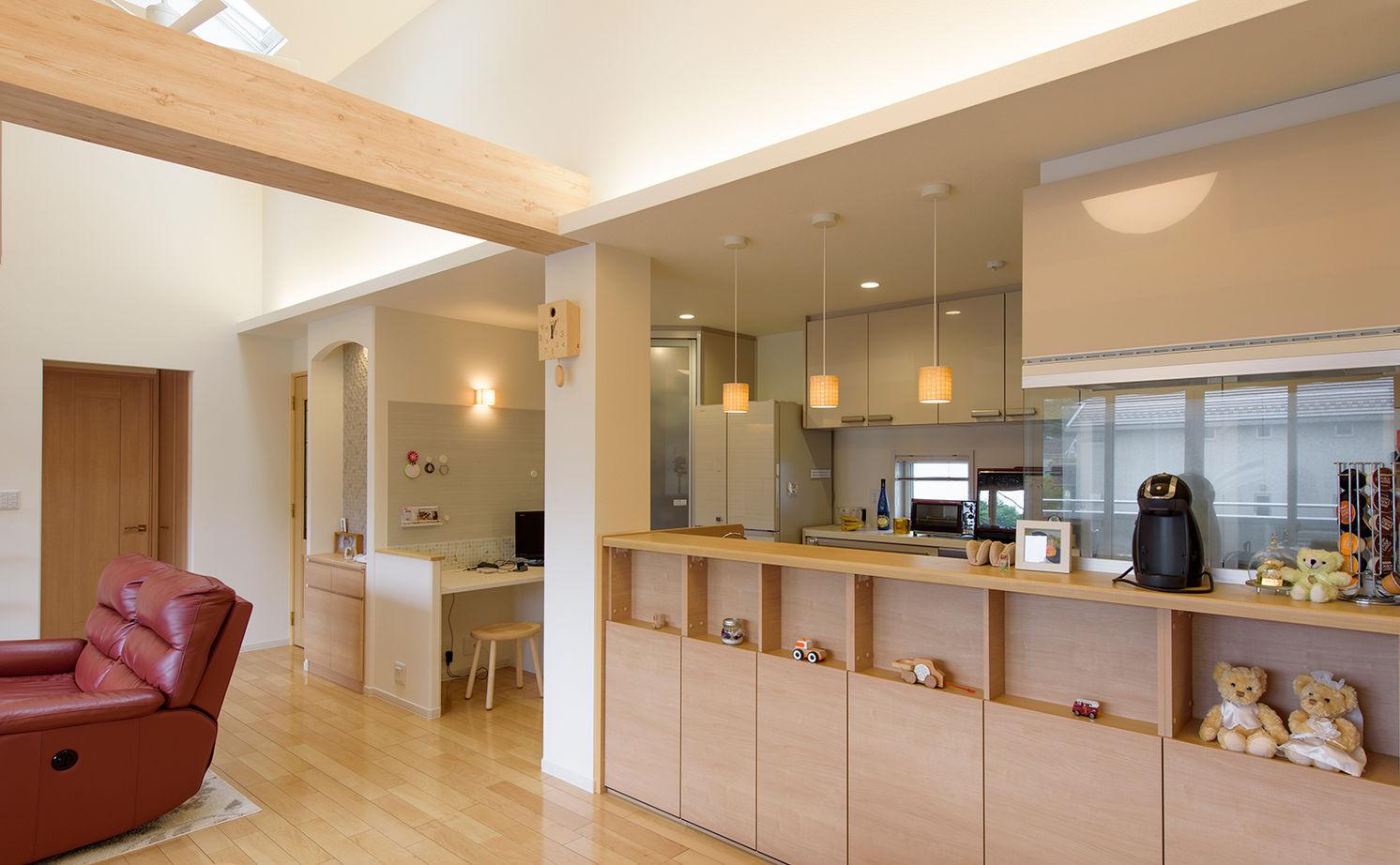 理想の子育て環境と、ワンフロアで生活できる便利さをかなえた完全分離型二世帯住宅画像3