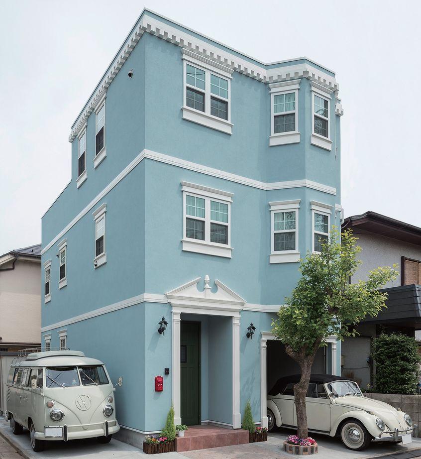 【1000万円台/間取図】海外ドラマに出てくるような優美な3階建ての輸入住宅画像1