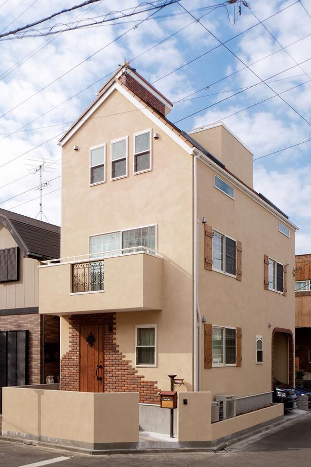 【1000万円台/狭小地】狭小地に憧れの輸入住宅!低予算でゆとりの3階建てを東京で画像1