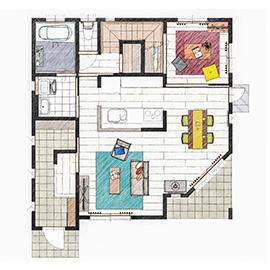 家族の要望を叶えた、耐震・耐火を重視したお家画像4