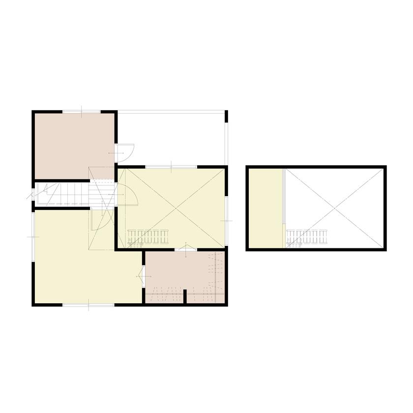 デッドスペースを有効活用した二世帯住宅画像5