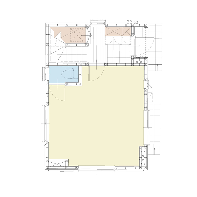 約15坪の狭小地に建てた3階建ての事務所兼住宅画像4