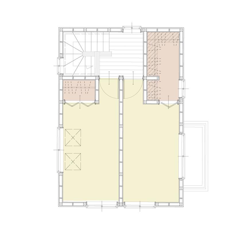 約15坪の狭小地に建てた3階建ての事務所兼住宅画像6