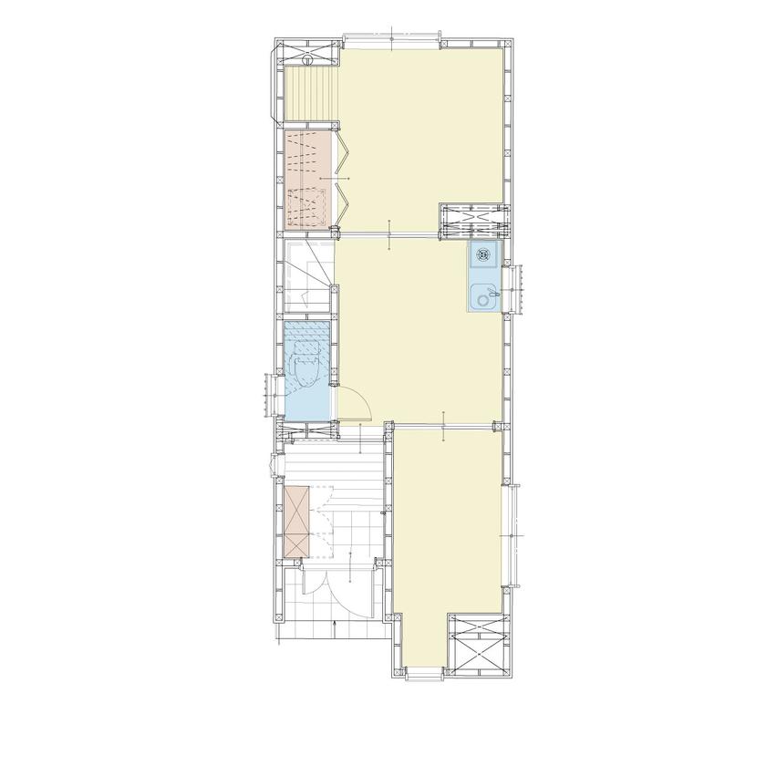 【屋上付3階建て】限られた敷地に有効的に建てられた空間設計画像4