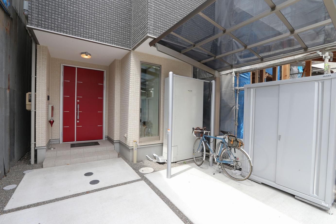 【屋上付3階建て】限られた敷地に有効的に建てられた空間設計画像3