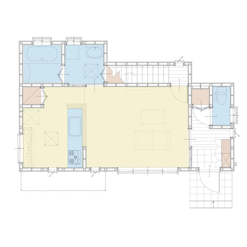 海を望め陽光差し込む邸宅、太陽光発電で光熱費を抑えるエコ住宅画像4