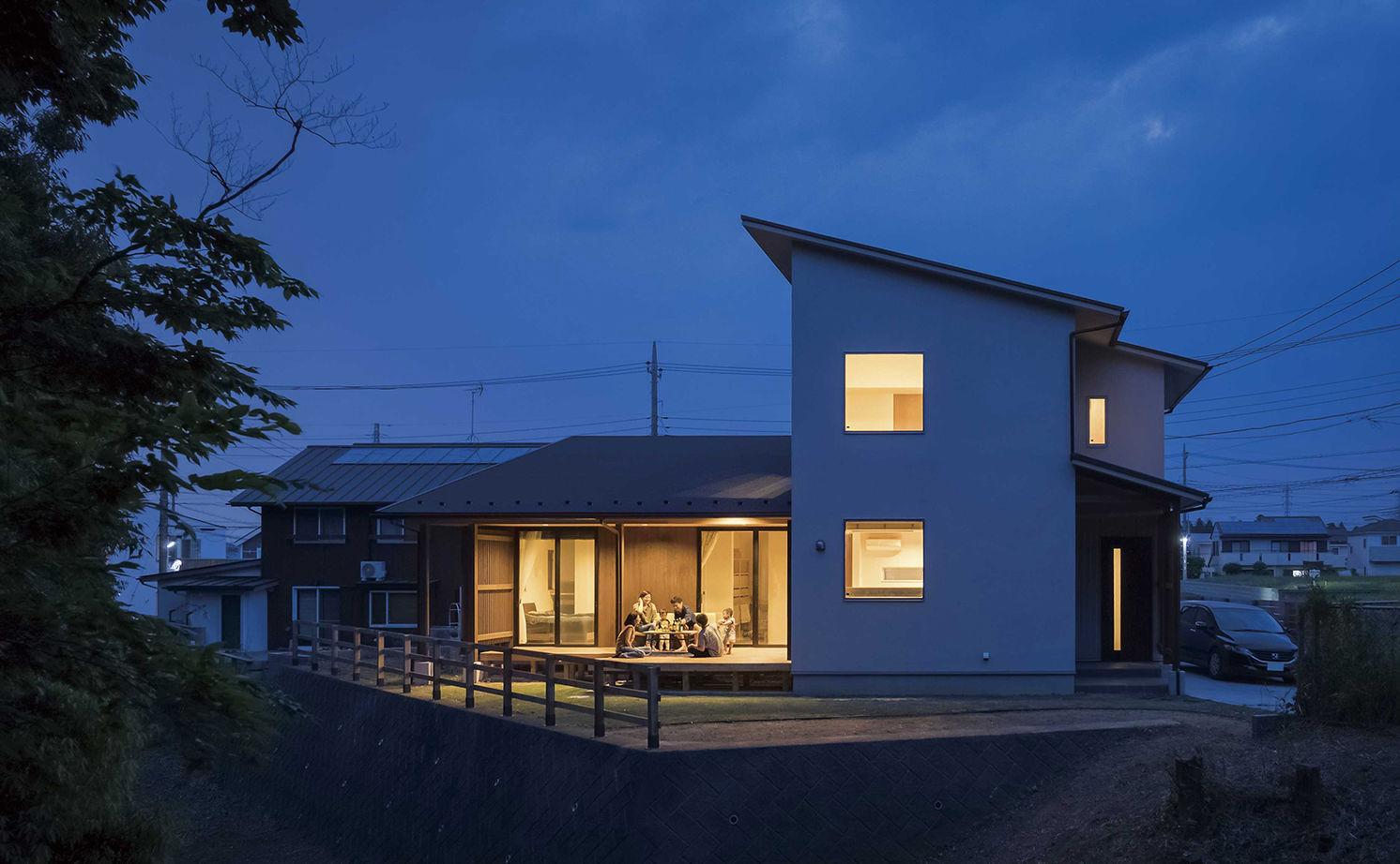 【本体価格2490万円/37坪】段差のある敷地を活かした、光と風と緑の家画像2