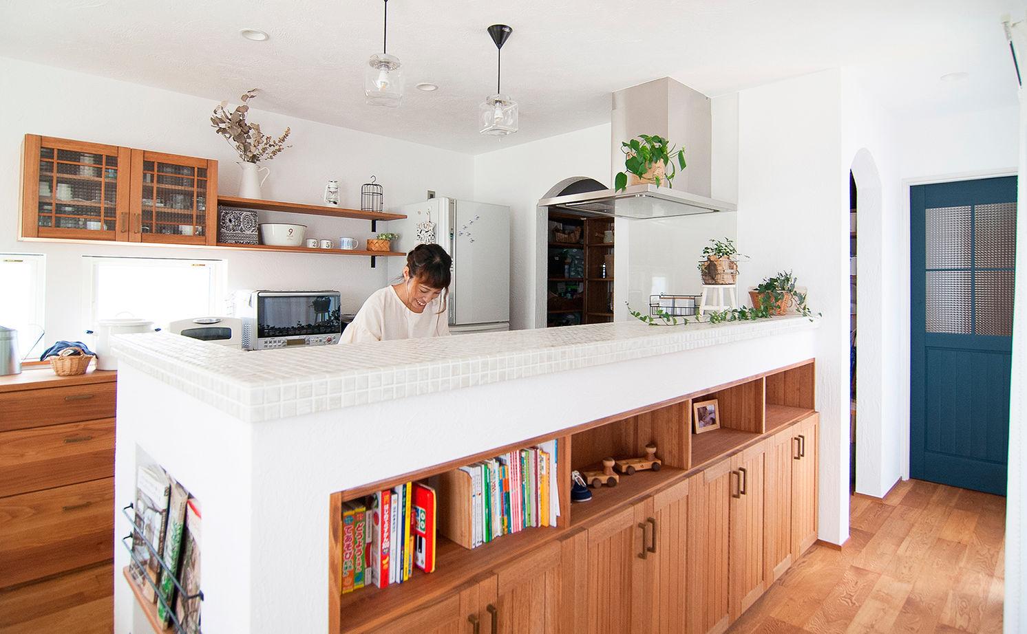 【平屋風×造作家具】手仕事が大好きな夫妻が選んだ、家具までハンドメイドの平屋風の住まい画像3