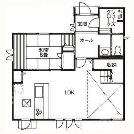 大きな吹抜け、心地よいインテリア 自由設計だからこそできた理想の家画像4