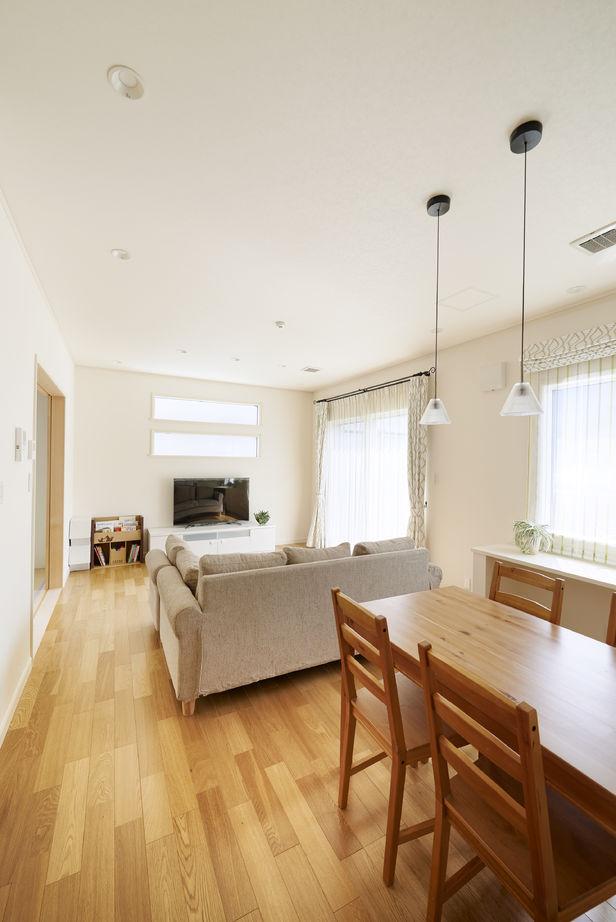 健康空調で家中がいつも一定の室温 オープンな間取りで伸び伸び暮らす画像2