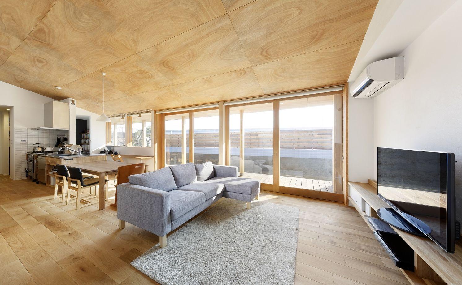 【平屋×2000万円台】回遊動線&抜群の開放感!木製のオーダー建具でつくる家族が一つになれる家画像3