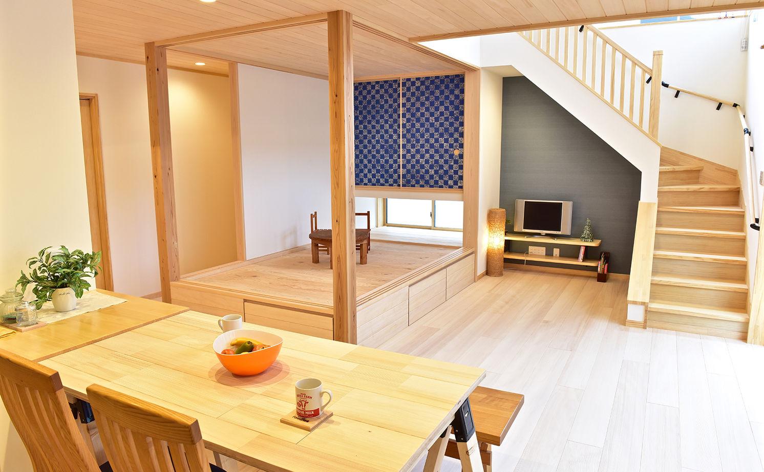 【本体価格2300万円】「もみの木」の家で自然素材の心地よさを実感。便利な生活動線にも大満足の住まい画像1