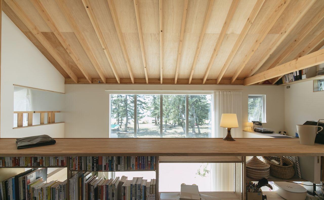 【2100~2200万円】大きな窓に広いテラス、吹き抜けで空間全体が繋がる湖の景色と暮らす家画像2