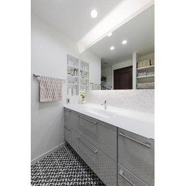 住友林業のリフォームの洗面所・脱衣所のリフォーム実例