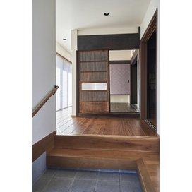 住友林業のリフォームの玄関のリフォーム実例